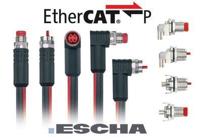 EtherCAT P – komunikacija in napajanje v enem kablu