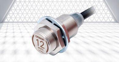 Omron senzor bližine serije E2EW v kovinskem ohišju